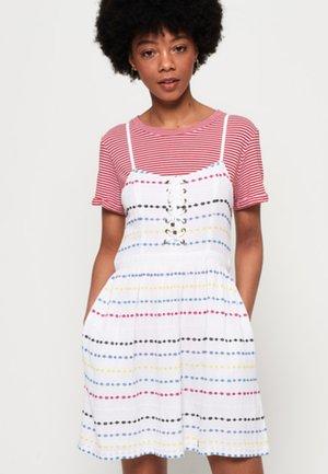 TAMARA CARNIVAl - Denní šaty - white