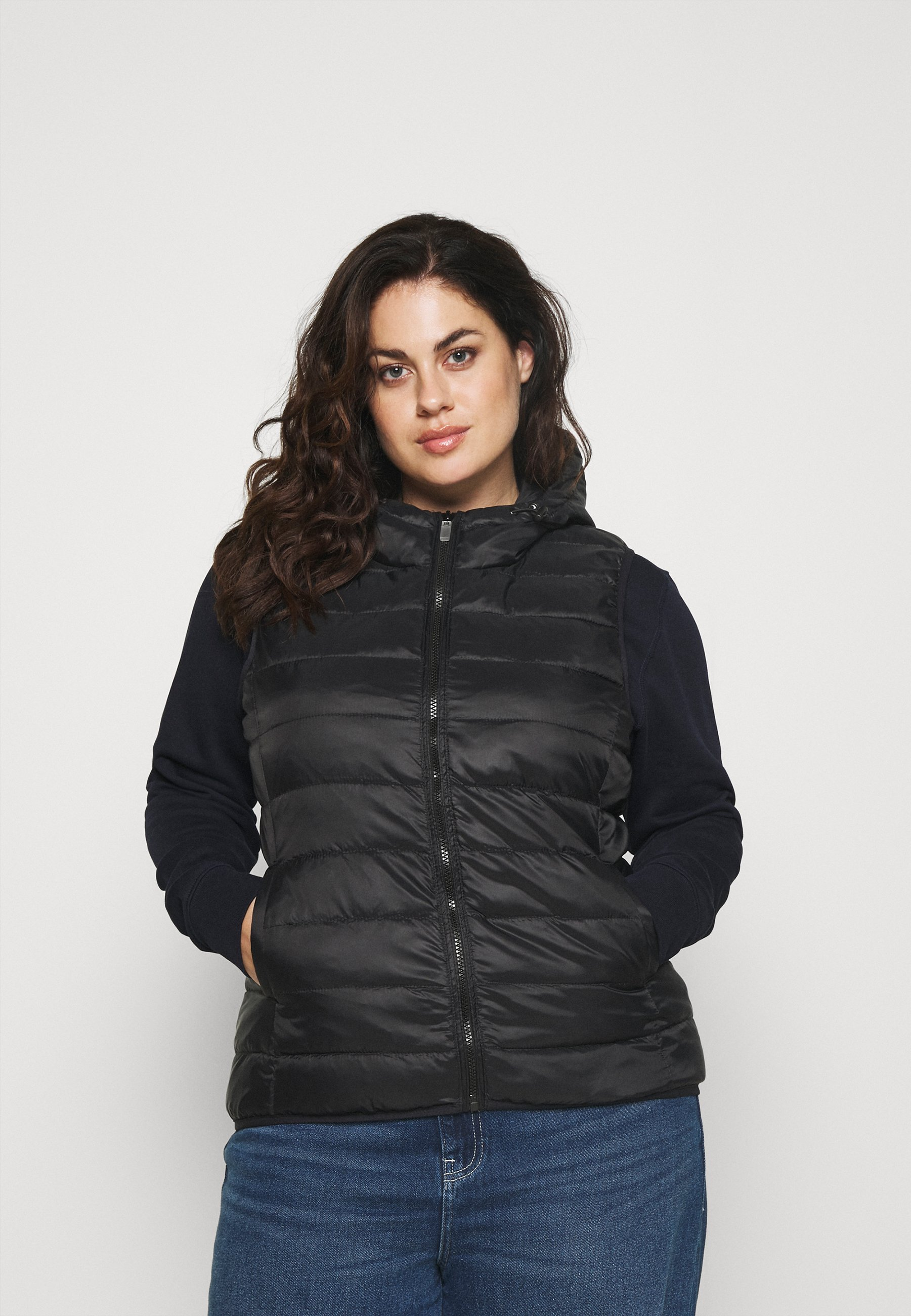 Women CARNEWTAHOE HOODWAISTCOAT - Waistcoat