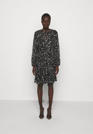 RAFIA - Denní šaty - black