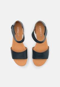 Caprice - Sandaletter med kilklack - ocean - 5