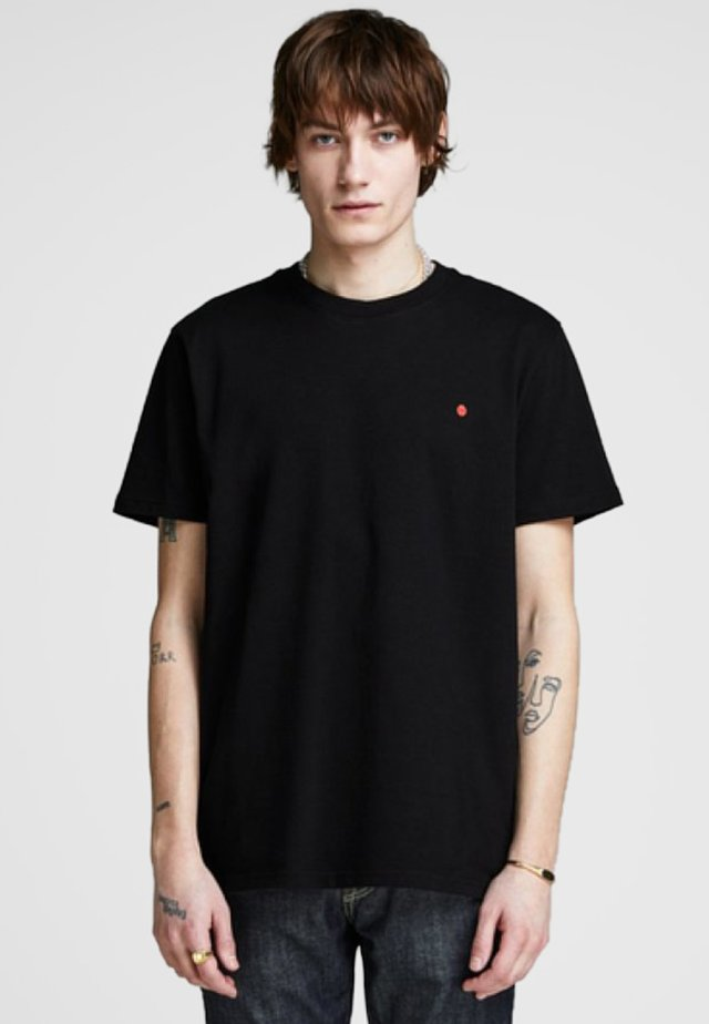 JJ-RDD CREW NECK - Basic T-shirt - black