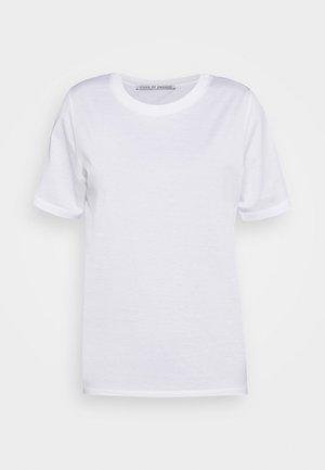 DEIRO - Basic T-shirt - pure white