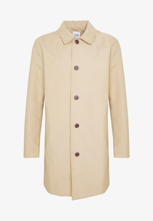 LONG MACK - Short coat - khaki sand
