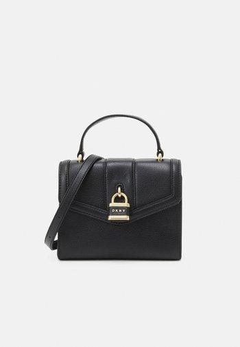 ELLA CROSSBODY - Handbag - black/gold-coloured