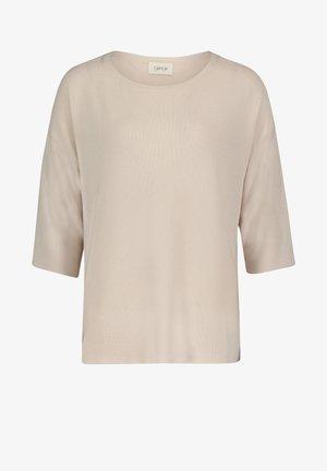 MIT STRUKTUR - Jumper - beige