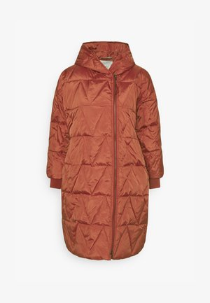 THYRA - Down coat - barn red