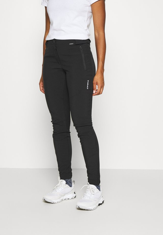 ICEPEAK DORAL - Trousers - black