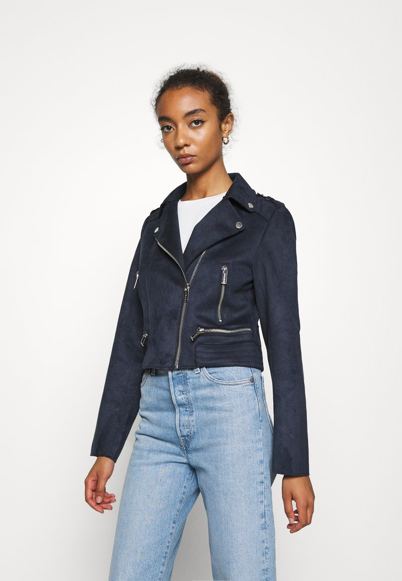 Morgan - GRAMMY - Faux leather jacket - marine