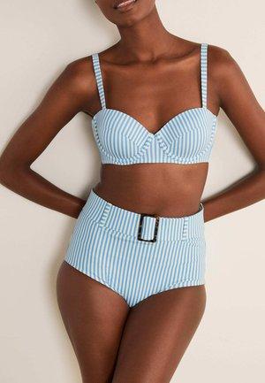 KYTHIRA - Bikini bottoms - blassblau, gestreift