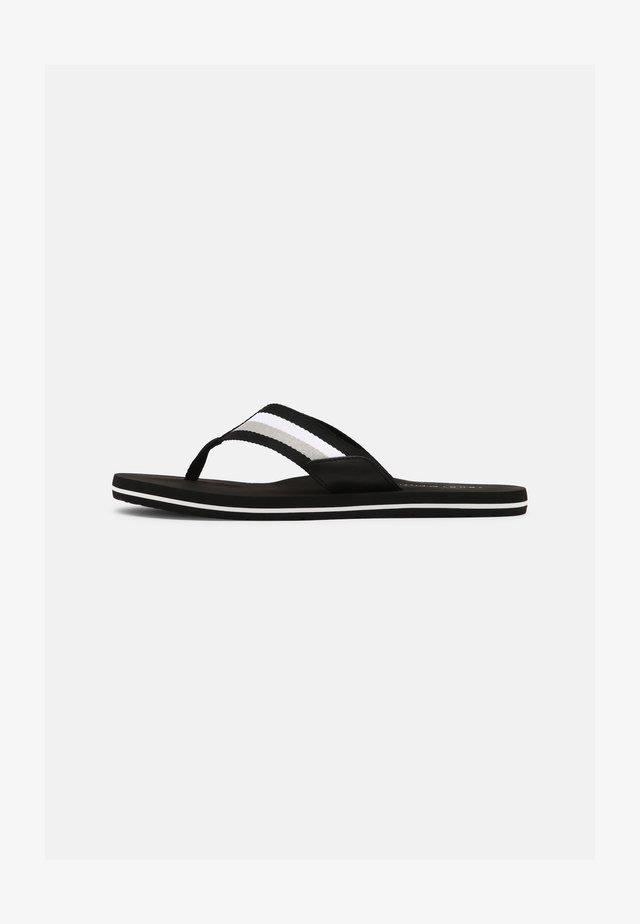 CORPORATE - Sandaler m/ tåsplit - black