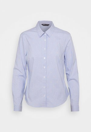 STRIPE WORKSHIRT - Skjorta - blue