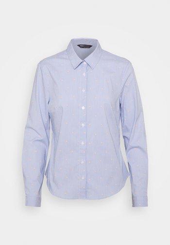 STRIPE WORKSHIRT - Skjortebluser - blue