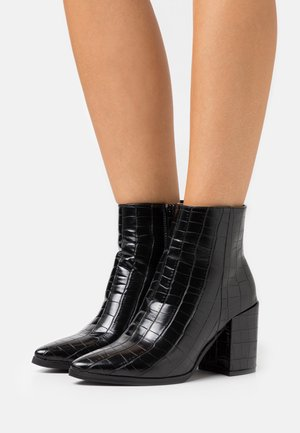 AMINA HELLED DRESS - Ankelboots - black