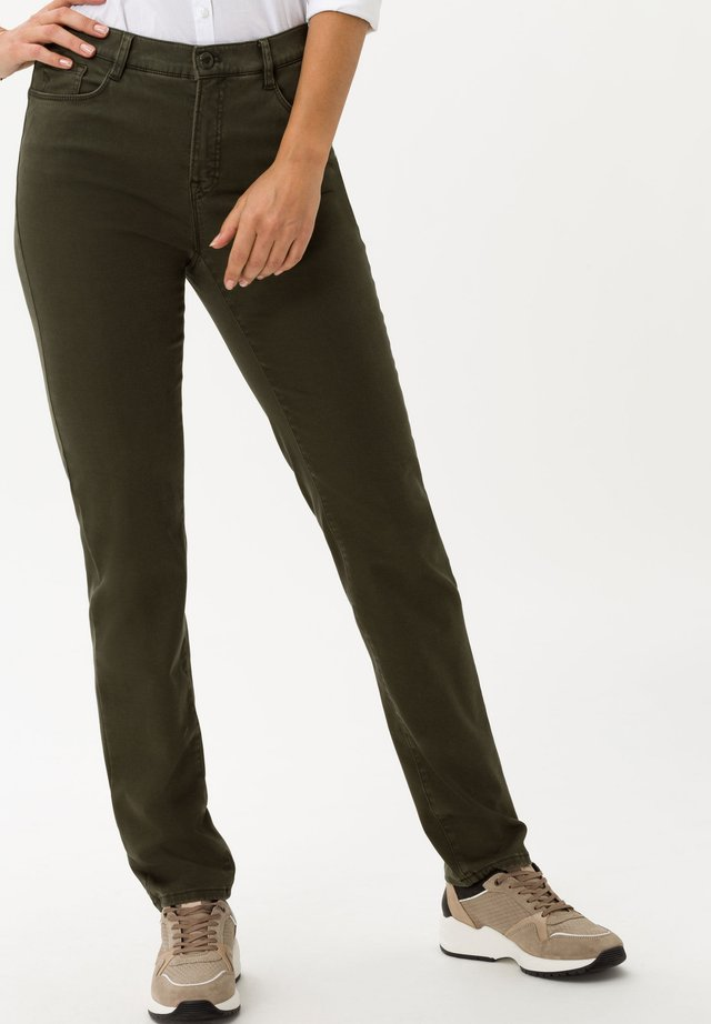 STYLE MARY - Broek - dark olive