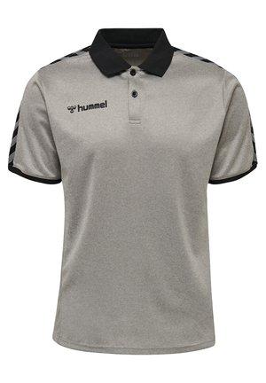 HMLAUTHENTIC FUNCTIONAL  - Polo shirt - grey melange