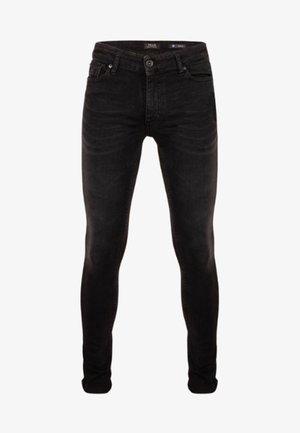 XYAN SKINNY - Jeans Skinny Fit - zwart