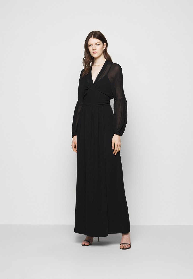 Dondup - GEORGETTE DRESS - Maxi dress - black