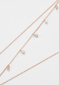 Orelia - MULTI DROP NECKLACE - Collar - rose gold-coloured - 4