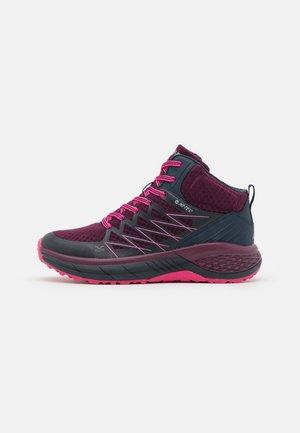 TRAIL DESTROYER MID WOMENS - Hiking shoes - deep purple/sky captain/fuschia rose
