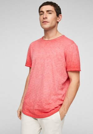 Basic T-shirt - faded red