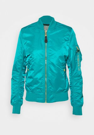 Bomber Jacket - blue lagoon