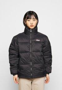 Fila Petite - SUSSI PUFF JACKET - Winter jacket - black - 0