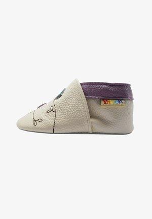 BABY   LAUFLERNSCHUHE AUS ECHTEM - First shoes - off-white