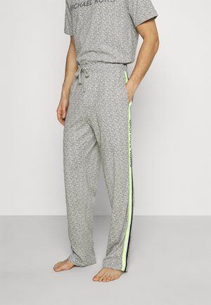 PEACHED PANT - Pyjama bottoms - grey/multi
