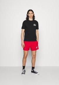 Element - SUNNET - T-shirt print - flint black - 1