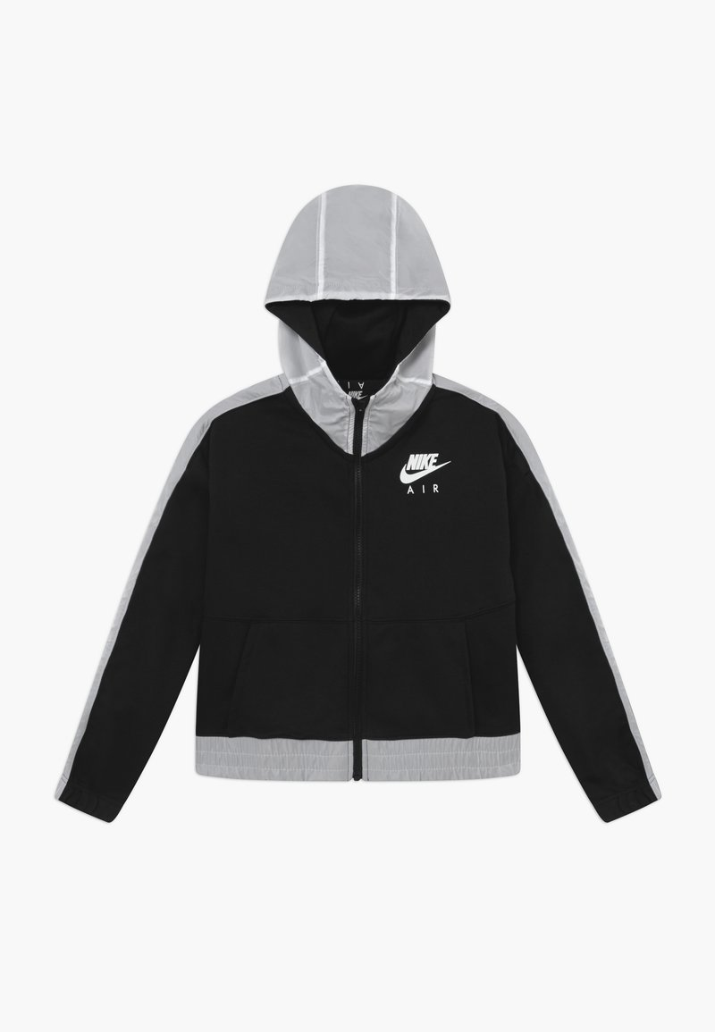 Nike Sportswear - Zip-up hoodie - black/white