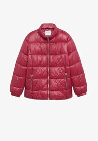 Violeta by Mango - MIT SEITLICHEN ZIPPERN - Winter jacket - fuchsia - 5