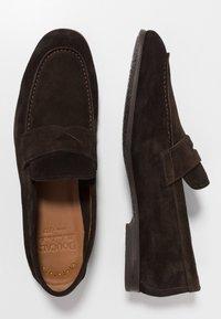 Doucal's - PENNY LOAFER - Elegantní nazouvací boty - testa di moro - 1