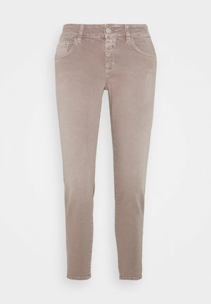 BAKER - Slim fit jeans - dark mauve