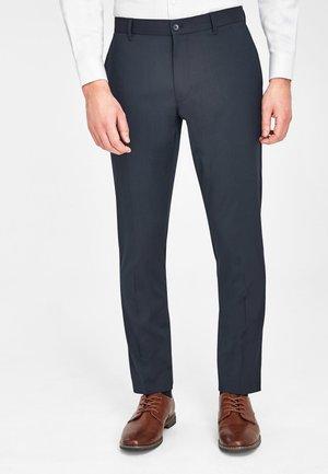 Pantaloni eleganti - mottled royal blue