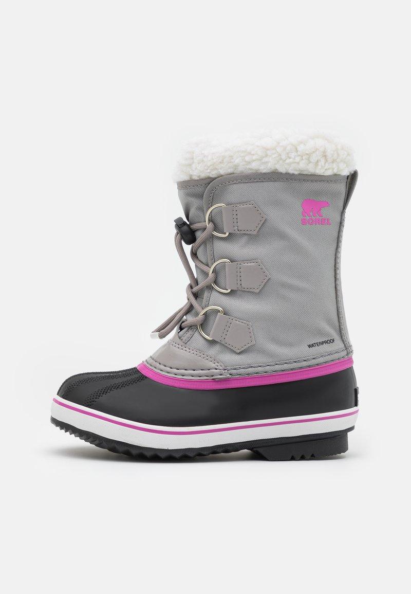Sorel - YOUTH YOOT PAC - Winter boots - chrome grey/black