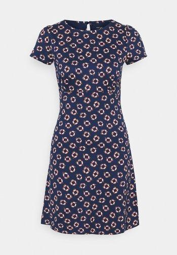 DRESS CAPITAN - Jersey dress - blue