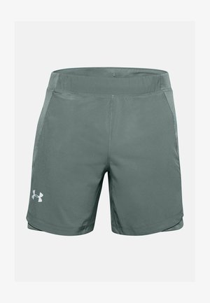 QUALIFIER SHORTS MIT SPEEDPOCKET - Sports shorts - lichen blue