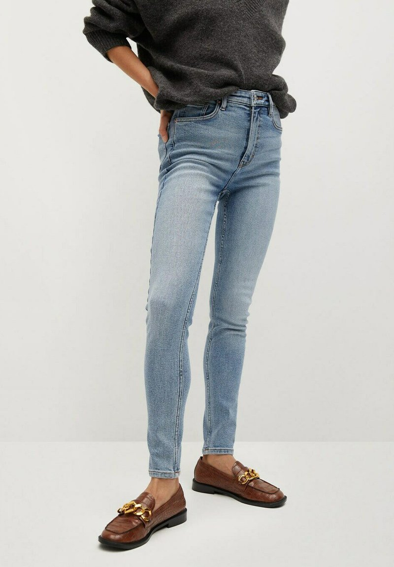 Mango - SOHO - Jeans Skinny Fit - middenblauw