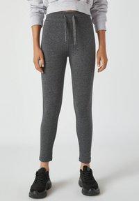 PULL&BEAR - Leggings - Trousers - grey - 0