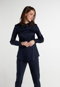 Eterna - MODERN CLASSIC - Button-down blouse - marine - 0