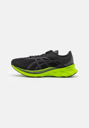 NOVABLAST - Neutral running shoes - black/lime zest