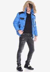 Cipo & Baxx - Winter jacket - blue - 1