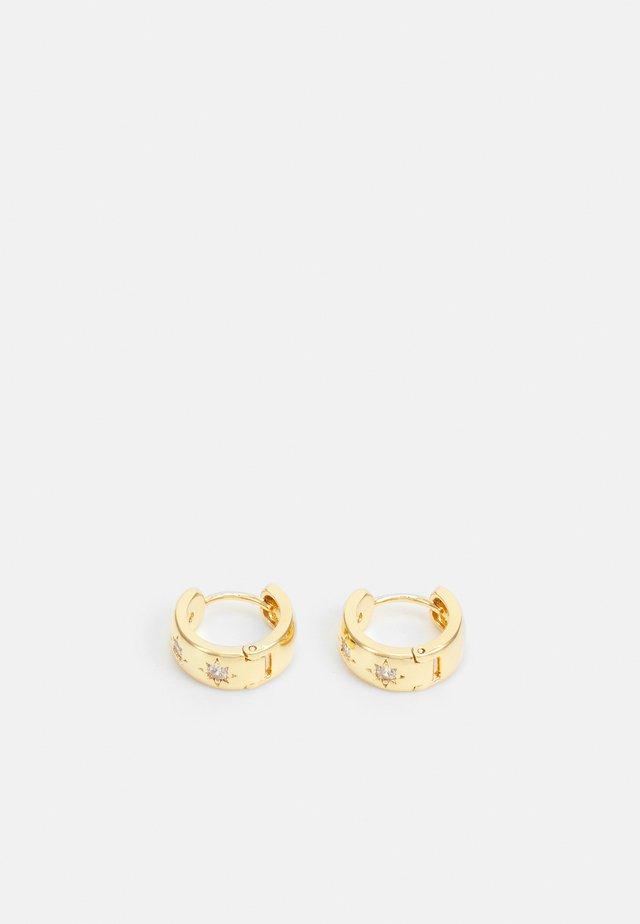 CHUNKY STARBURST HUGGIE HOOP - Korvakorut - gold-coloured