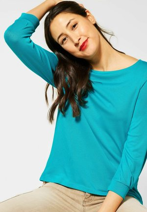 Long sleeved top - türkis