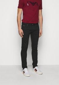 Emporio Armani - Jeans slim fit - black - 0