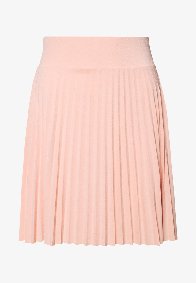 A-line skirt - dusty pink