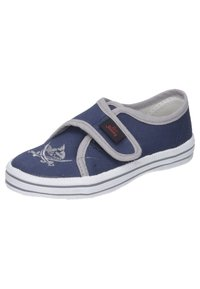 Capt'n Sharky - ANTON - Touch-strap shoes - blau/grau - 3