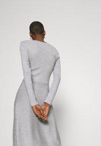 Anna Field - Strikket kjole - light grey melange - 2