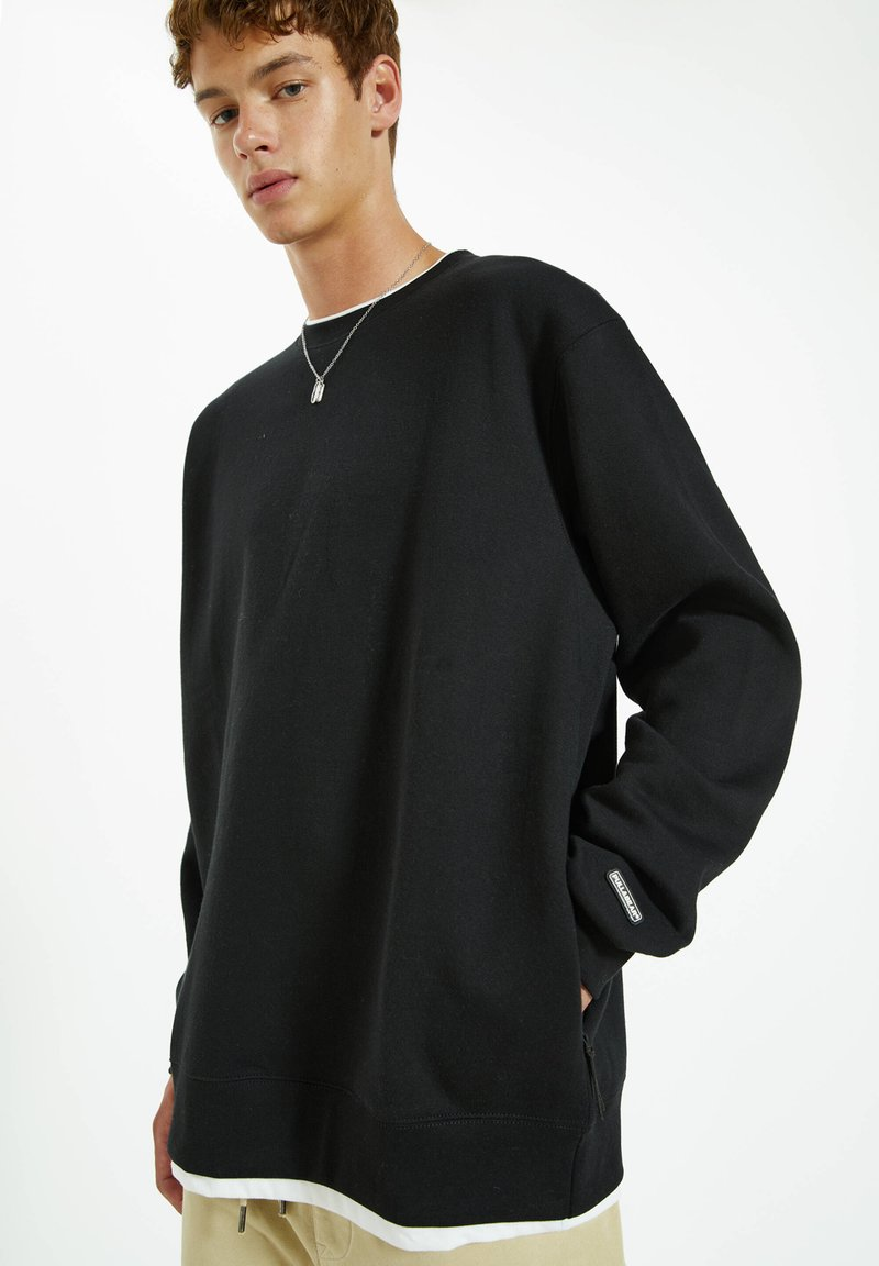 PULL&BEAR - Sweatshirt - black