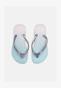 Havaianas - GLITTER COLOR - T-bar sandals - blue - 0
